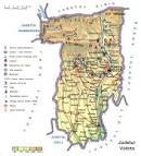 Judetul Valcea - Harta Romaniei