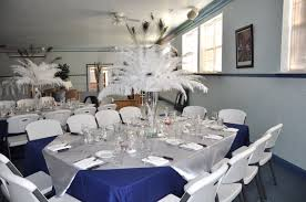Black Blue And Silver Table Settings Gallery Tp Events Planning U0026 Consulting Corporate Weddings