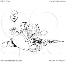 royalty free rf clip art illustration of a cartoon black and