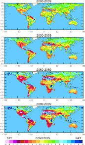 Drought Map Usa by Climate Change Drought May Threaten Much Of Globe Within Decades