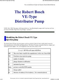 bosch diesel pump repair manual timing 2008 robert bosch ve type injection pump turbocharger pump