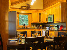 moonshine hollow newly renovated homeaway blue ridge kitchen view from dining area