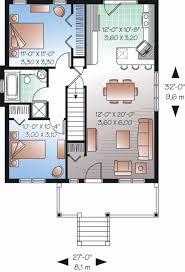 ranch style house plan 2 beds 1 00 baths 870 sq ft plan 23 2200