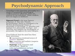 Psychodynamic Approach According to this approach  personality is a result of unconscious psychological conflicts and SlidePlayer
