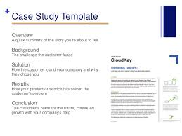 Attractive Case Study Template  amp  Cover