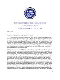 Download Letter to Springfield City Council   DocShare tips