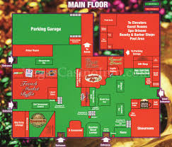 New Orleans Downtown Map by Las Vegas Casino Property Maps And Floor Plans Vegascasinoinfo Com