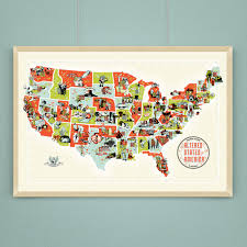 Map Of The Usa by Altered States Of America A Scifi Horror Map Of The Usa