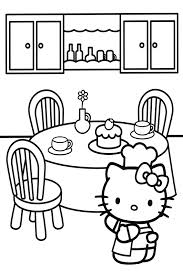 kitty coloring pages overview lot kitties