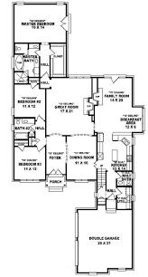 Floor Plan House 3 Bedroom The 25 Best 3 Bedroom 2 5 Bath House Plans Ideas On Pinterest