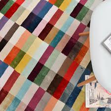 Coloured Rug Deco Multi Coloured Rugs Free Uk Delivery The Rug Seller
