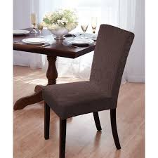 velvet damask parson chair slipcover 95pct polyester 5pct spandex