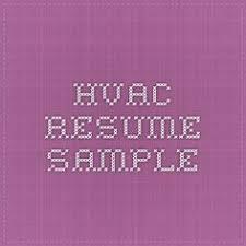 Examples Of Hvac Resumes by Hvac Technician Resume Sample Resumecompanion Com Resume