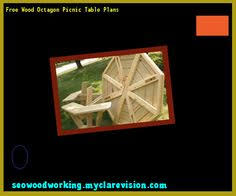 folding bench picnic table plans free 094542 woodworking plans