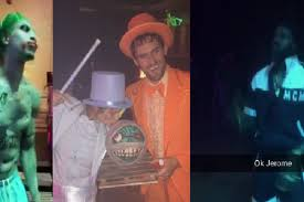 party city kansas city halloween the 6 best costumes from lebron james u0027 halloween party ranked