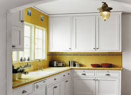 small kitchen design cabinets white spray paint block board island