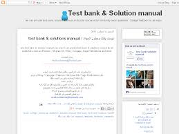 test bank u0026 solution manual