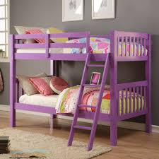 bedrooms for girls with bunk beds bedroom donco kids bunk beds twin over full kids loft bed