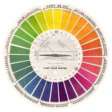 Color Swatches Paint by Free Vintage Color Wheels U0026 Charts On My Blog For Download Free