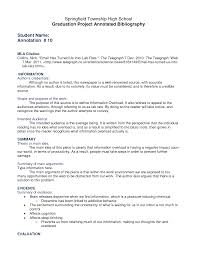 Recommendations on Creating an Annotated Bibliography Family How to write a good document based essay   FC