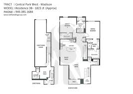 Central Park Floor Plan by Madison Central Park West Townhomes For Sale With Listings