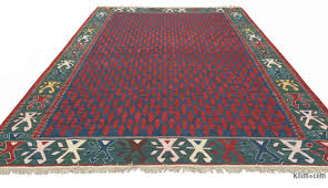 Multicolor Rug K0021095 Multicolor New Turkish Kilim Rug Kilim Rugs Overdyed