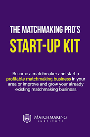 The Matchmaking Pro     s manual provides you with all the materials necessary for starting a business in the matchmaking industry