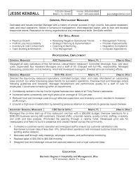 educational attainment example in resume sample resume for general manager of hotel template general manager resume general manager resume sample sample resume