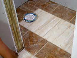 wainscoting and tiling a half bath hgtv