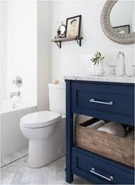 Beach Bathroom Decor Ideas Colors Beach Bathroom Decor Blue Cabinets Blue Vanity And Center Stage