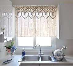 kitchen distinctive kitchen curtain ideas for white kitchen