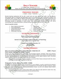 Resume For Montessori Teachers Resume Posted     Apr