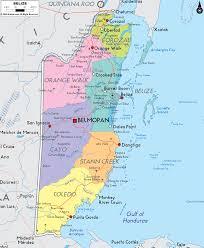 political map of belize ezilon maps coco u0027s mission pinterest