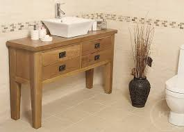 Vanity Units With Drawers For Bathroom by 50 Off Traditional Oak Vanity Unit With Drawers Bathroom Valencia