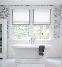 inspirations designs bathroom window treatments ideas with white