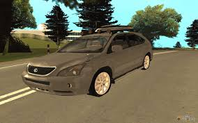 lexus rx400h crossover rx400h 2010 for gta san andreas