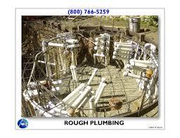 Plumbing Rough 2 Rough In Plumbing U0026 Electrical Aquatic Mechanical