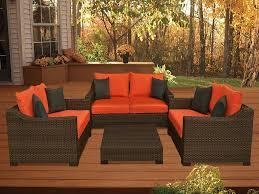White Resin Wicker Outdoor Patio Furniture Set - oxford 4 piece resin wicker set plioxfset bg