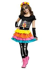 Kids Skeleton Halloween Costumes Day Of The Dead Halloween Costumes Photo Album Couples Day Of The