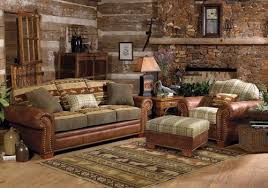 Lodge Living Room Decor by Log Cabin Interior Photo Gallerycozy Cabin Decorating Ideas Log