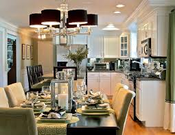 kitchen dining room lighting ideas endearing set home office on