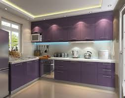 purple east high gloss pvc kitchen cabinet vc cucine china