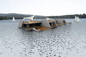 floating homes modern design by moderndesign org gardening