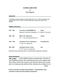 Sample Rn Resume 1 Year Experience by Download Good Resume Objectives Samples Haadyaooverbayresort Com