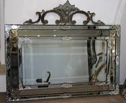 Home Goods Bathroom Decor Interior Vintage Venetian Mirror For Classic Interior Decor