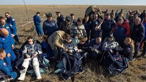 soyuz ms 02 trio returns to earth spaceflight insider