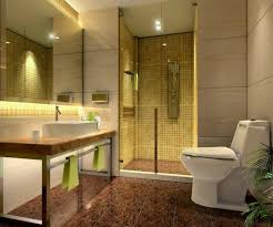 Mosaic Bathroom Tile by Brillian Modern Bathroom Decorating Ideas With Gold Mosaic Tiles