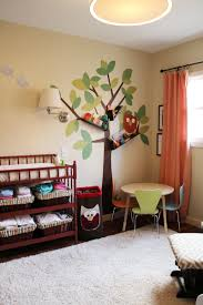 Baby Room Wall Murals by Baby Nursery Mesmerizing Baby Room Decoration With Brown Wooden