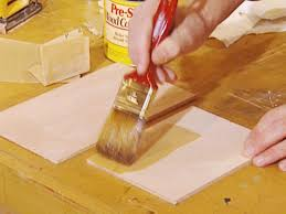 Stain Unfinished Kitchen Cabinets by How To Stain Wood Cabinets How Tos Diy