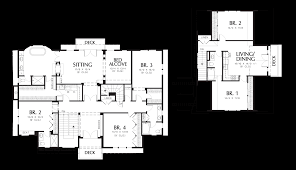 Sunroom Floor Plans by Mascord House Plan 2418 The Parnell